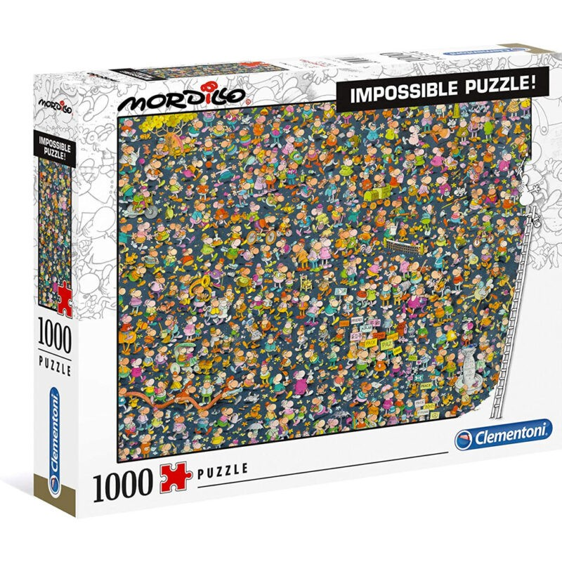 Impossible Puzzle Mordillo