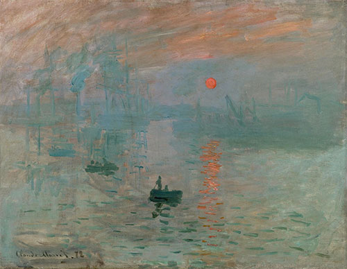 Impressione Sole Nascente Di Claude Monet
