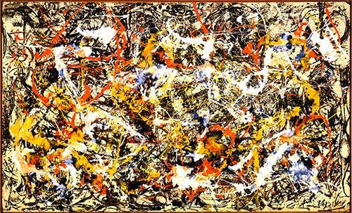 Jackson Pollock Opera Convergence