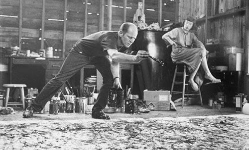 Jackson Pollock Tecnica Pittorea Dripping