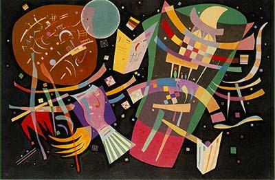 Kandinsky Puzzle Composizione X