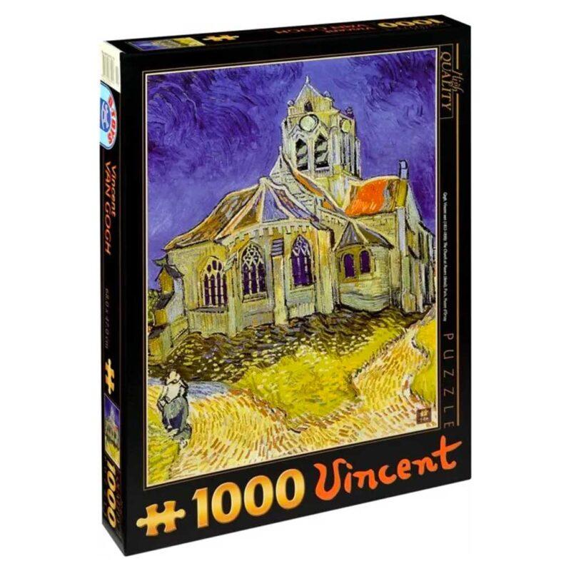 La Chiesa Di Auvers Van Gogh Puzzle 1000 Pezzi