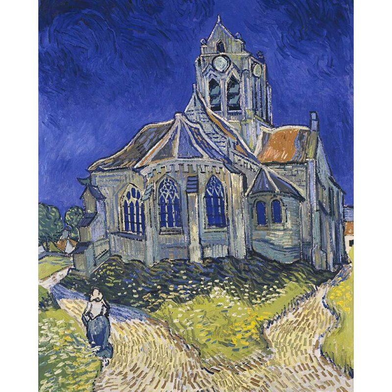 La Chiesa Di Auvers Van Gogh Puzzle 1000 Pezzi Immagine Arte