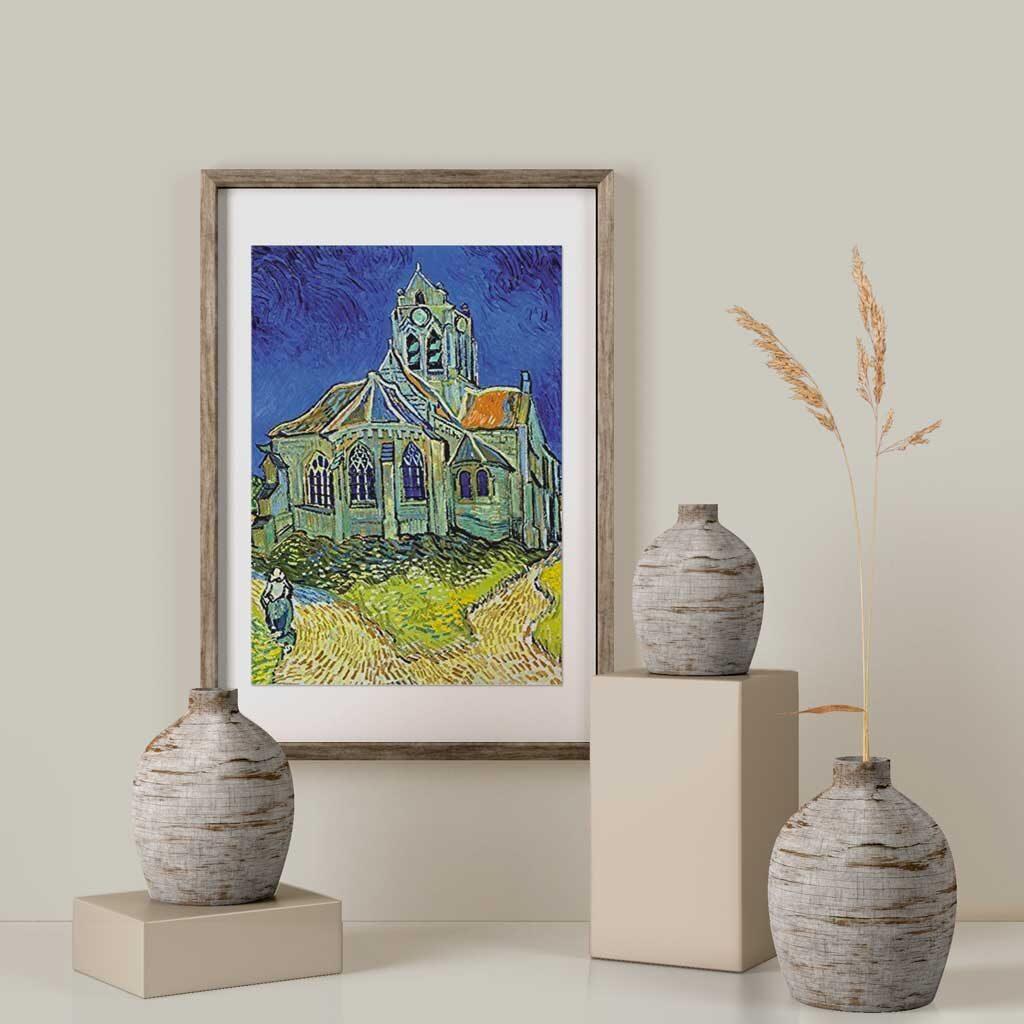 La Chiesa Di Auvers Van Gogh Puzzle 1000 Pezzi Quadro Arte
