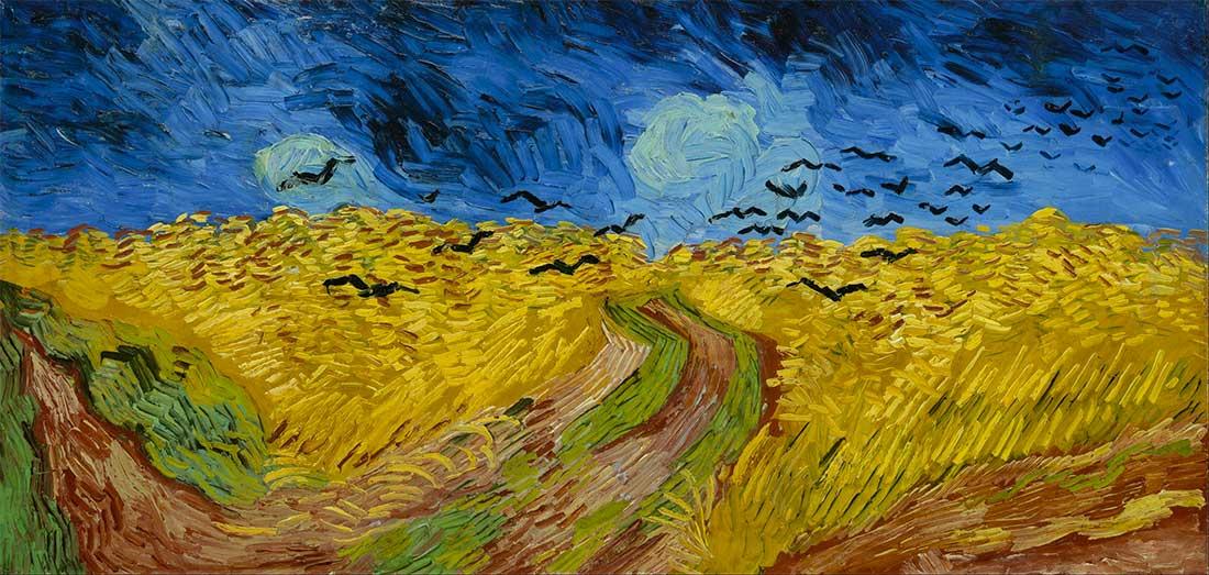 La Chiesa Di Auvers Van Gogh Ultimo Campo Di Grano