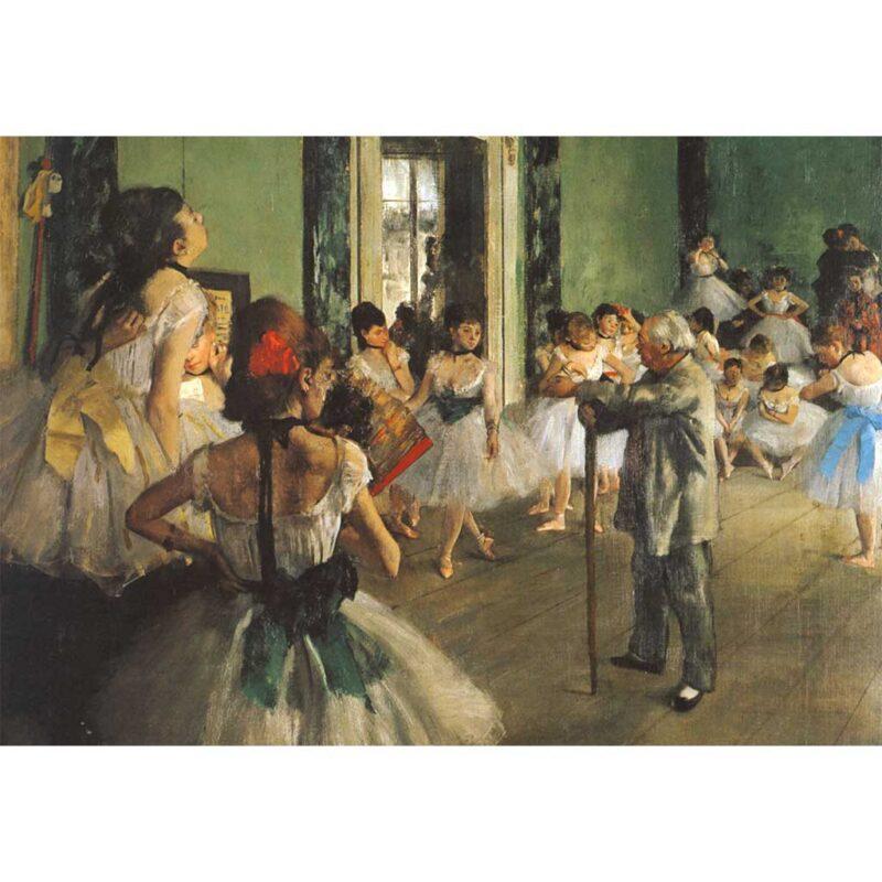 La Classe Di Danza Degas Puzzle 1000 Pezzi Dettaglio Opera