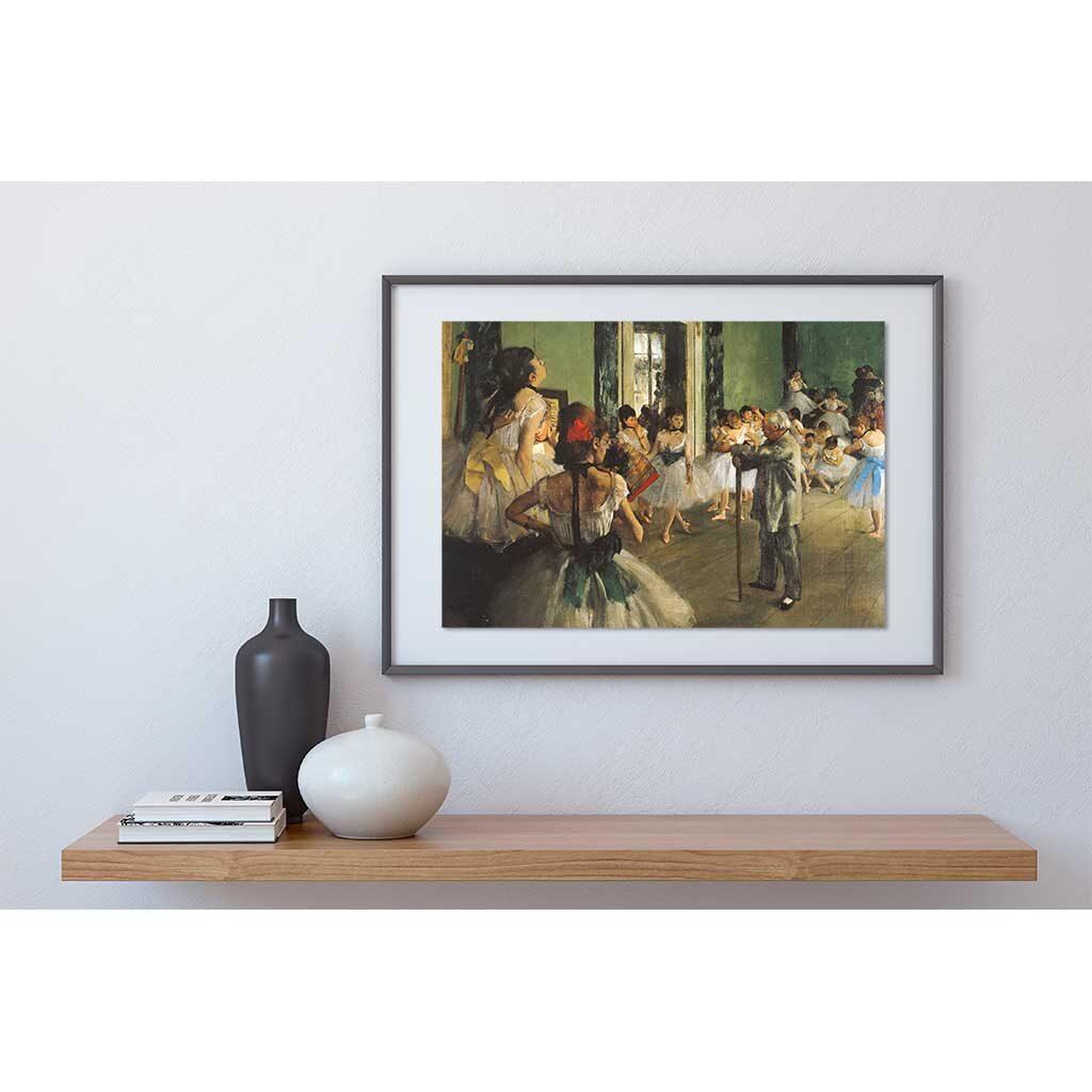 La Classe Di Danza Degas Puzzle 1000 Pezzi Dtoys Quadro Arte Opera