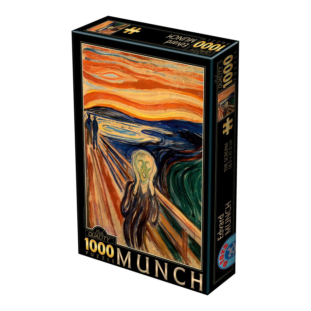 Puzzle l'urlo di Munch – 1000 pezzi