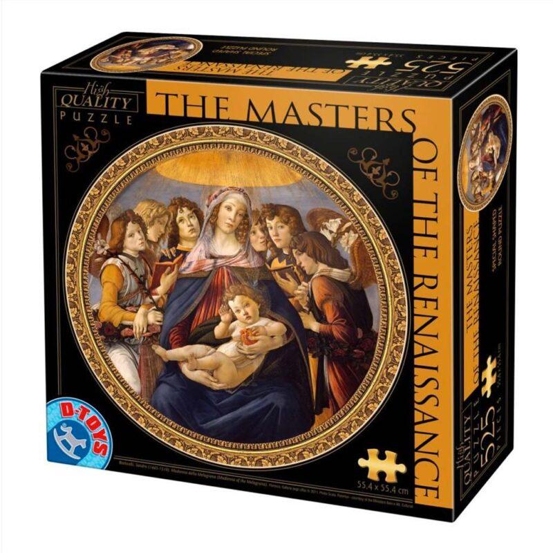 Madonna Della Melagrana Botticelli