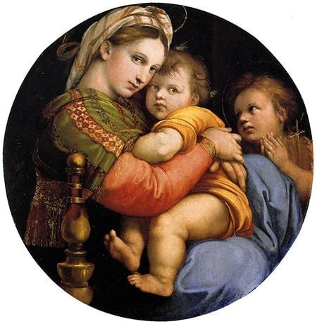 Madonna Della Seggiola Raffaello