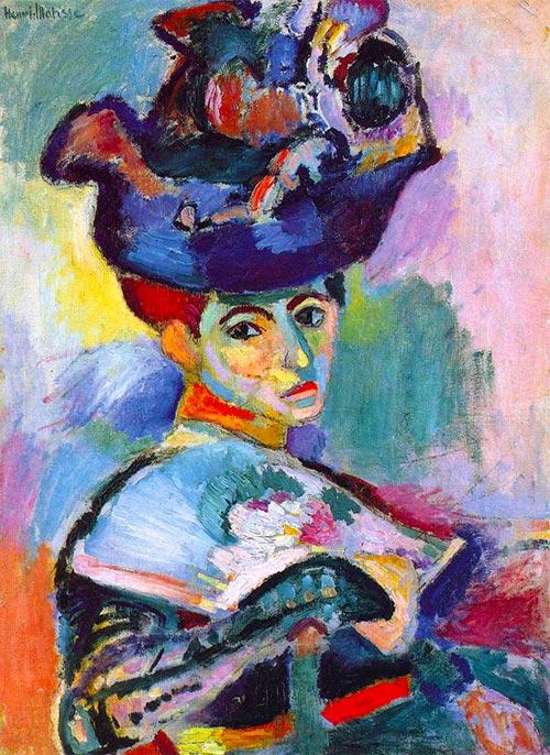Matisse Donna Col Cappello Opera Arte Puzzle