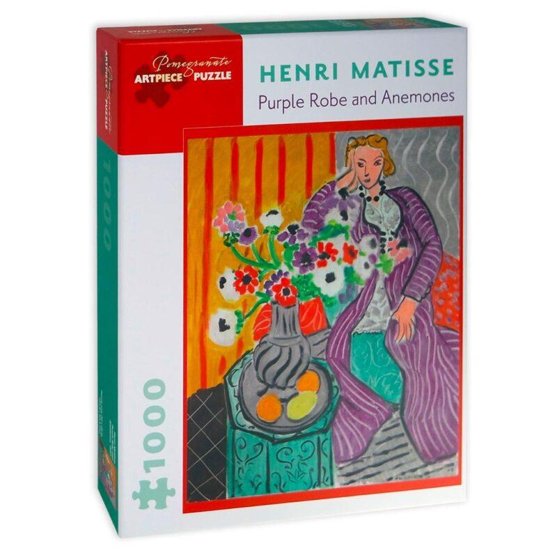 Matisse Purple Robe And Anemomes Puzzle 1000 Pezzi
