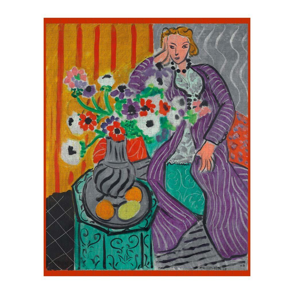 Matisse Purple Robe Puzzle Arte