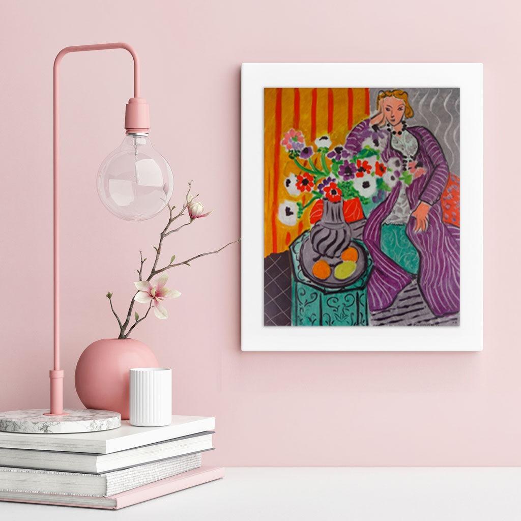Matisse Purple Robe Quadro Pezzi 1000