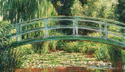 Monet Ponte Giapponese Giverny