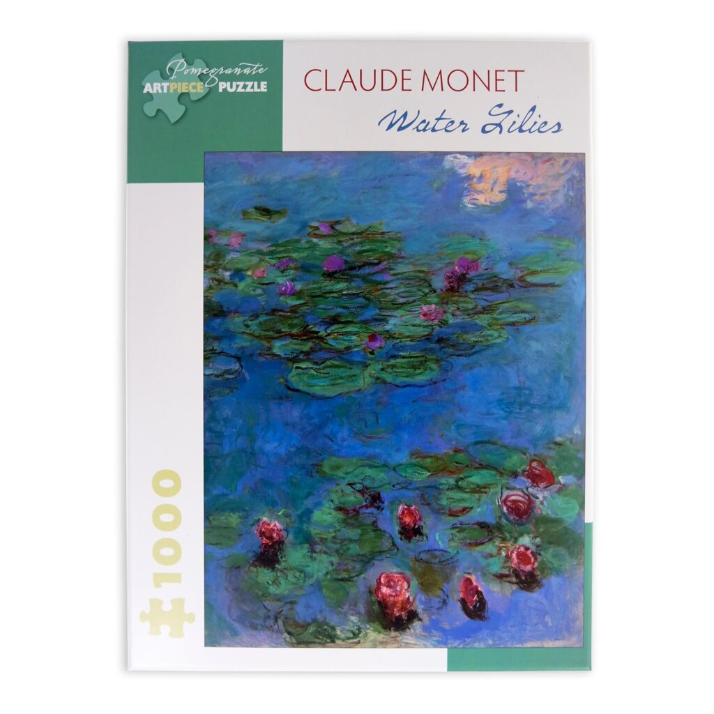 Monet Water Lilies Puzzle 1000 Pezzi Scatola Fronte