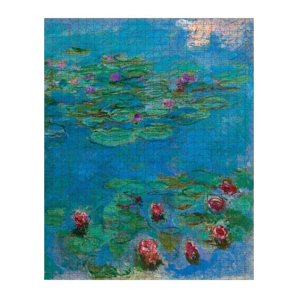 Monet Water Lilies Puzzle Arte
