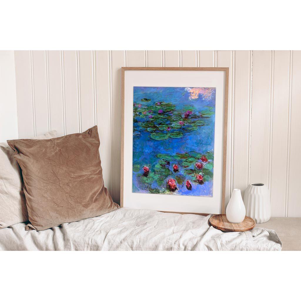 Monet Water Lilies Quadro Mille Pezzi