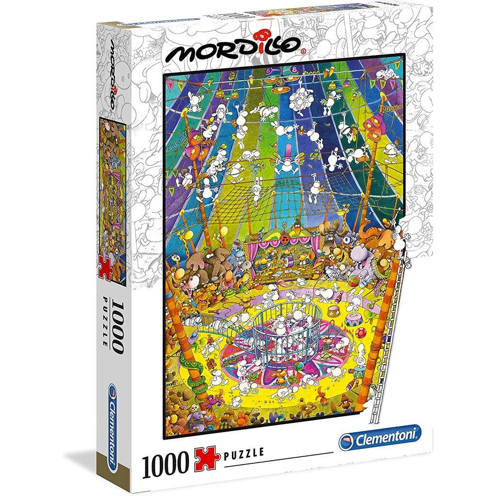 Mordillo Puzzle The Show