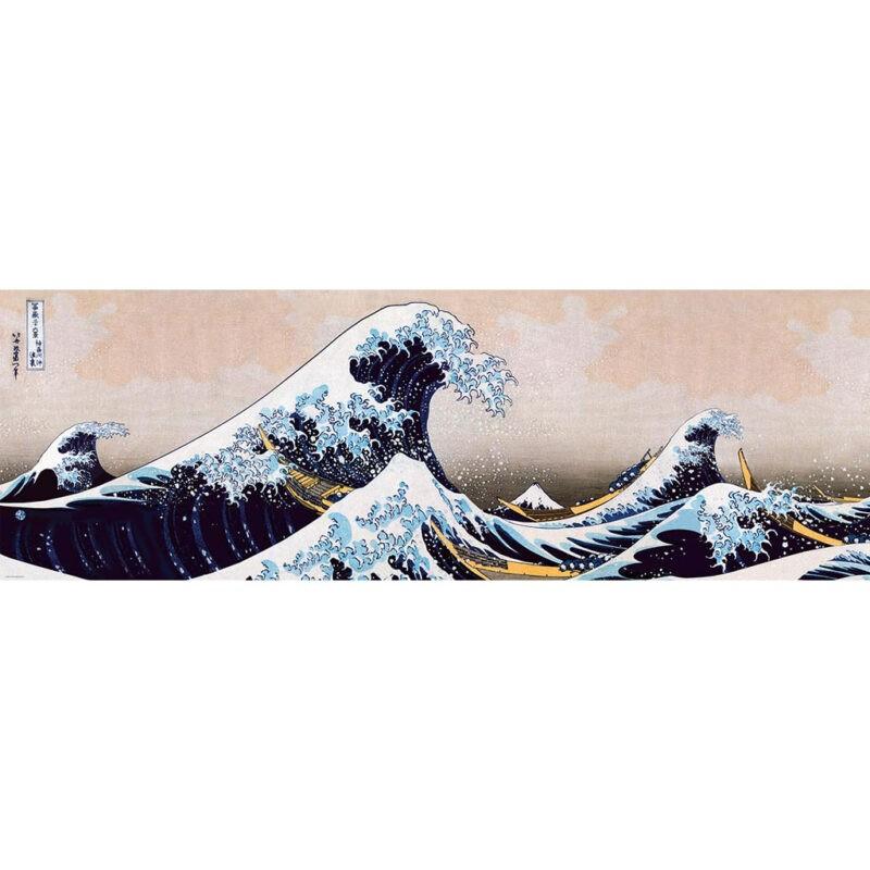 Onda Hokusai Puzzle Arte