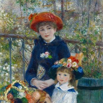Pezzo Renoir Sulla Terrazza