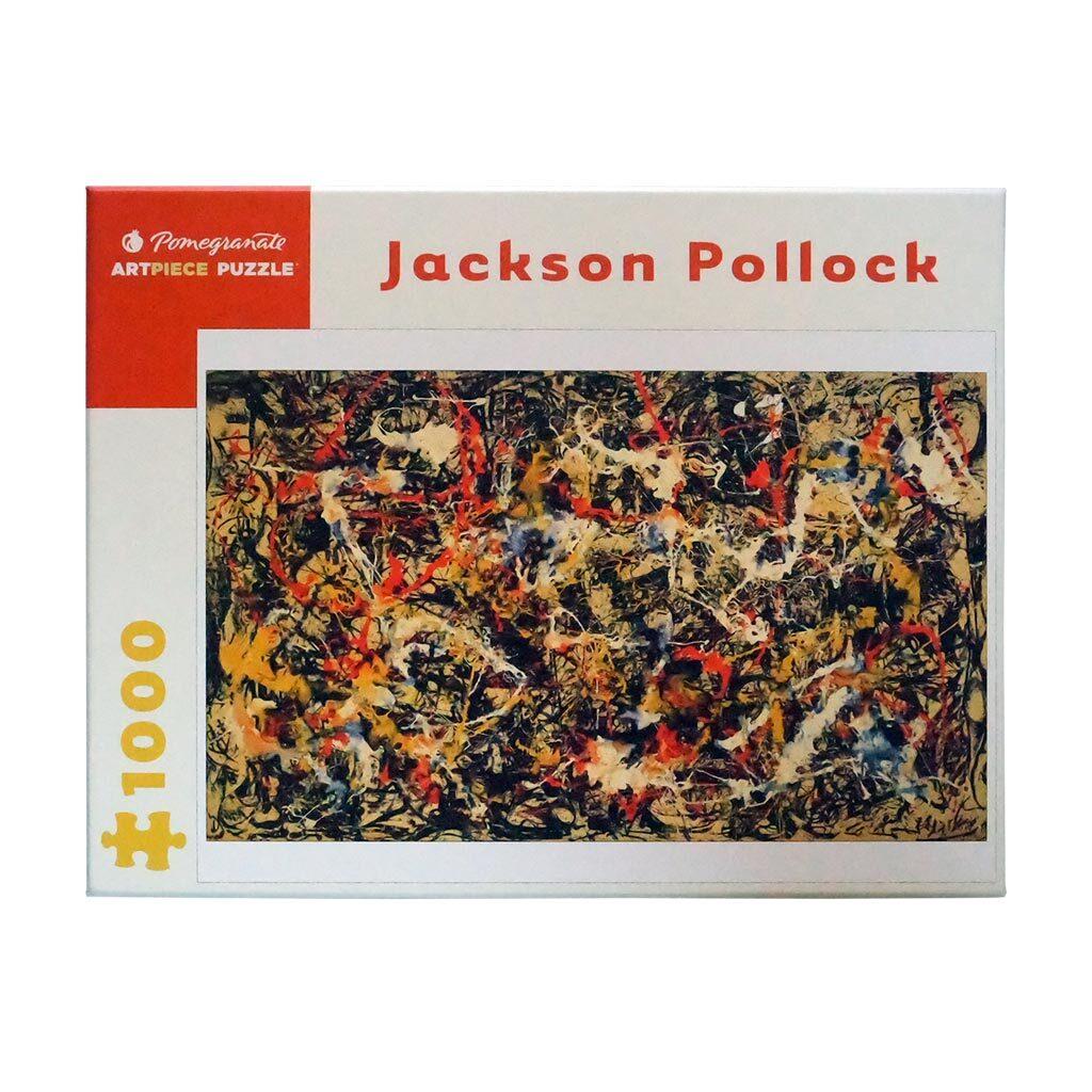 Pollock Convergence Fronte Scatola Pezzi 1000