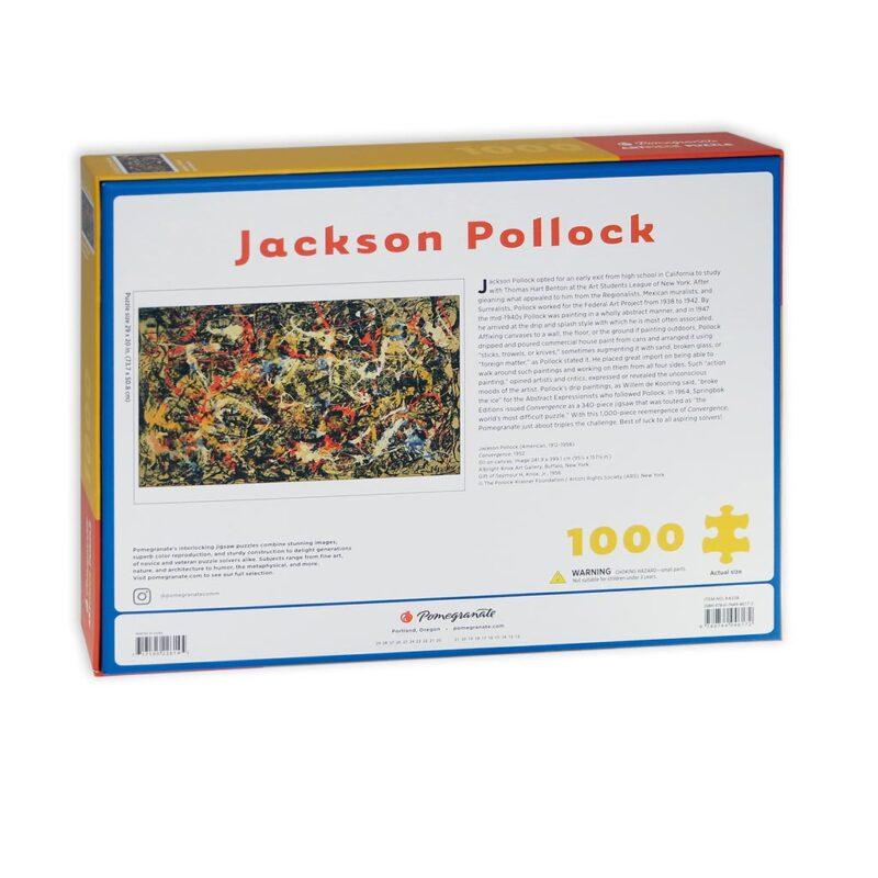 Pollock Convergence Puzzle 1000 Pezzi Retro