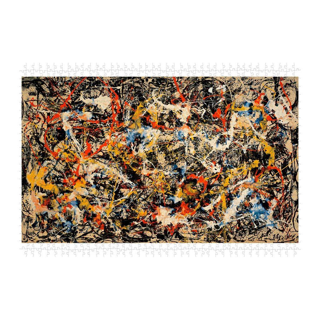 Pollock Convergence Puzzle Arte