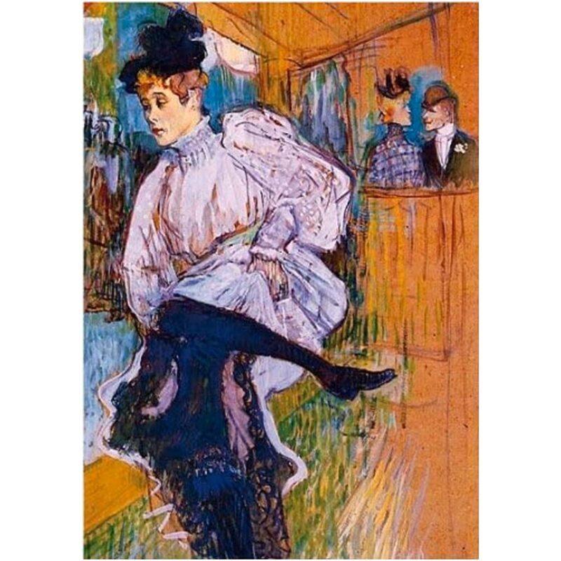 Puzzle Arte Jane Avril Toulouse Lautrec