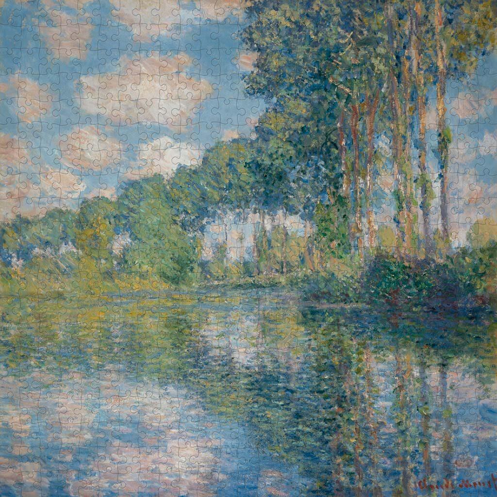 Puzzle Arte Monet Pioppi