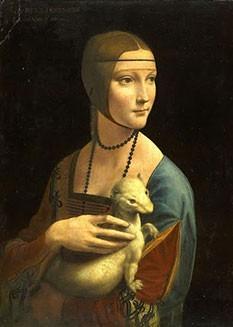 Puzzle Arte Rinascimentale Dama Ermallino Leonardo Da Vinci