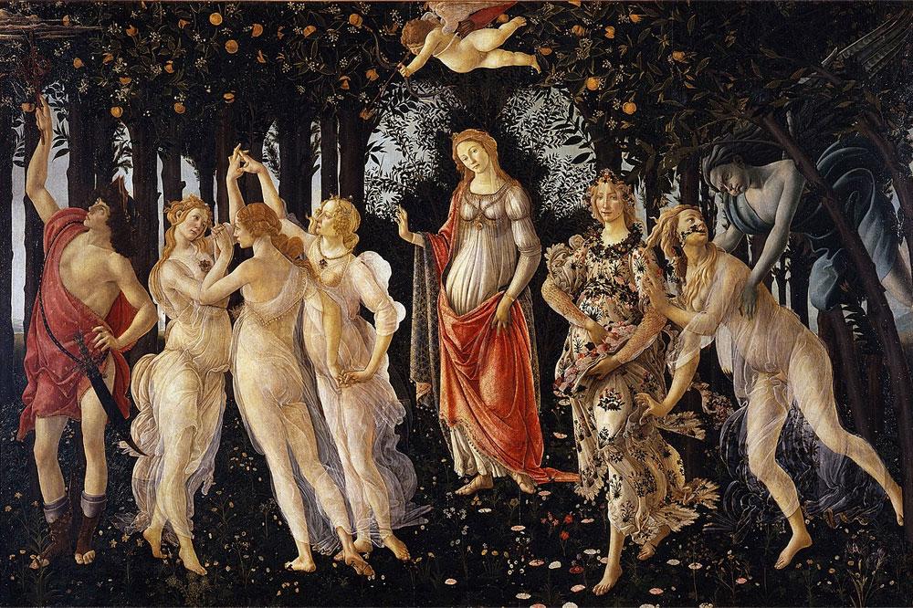 Puzzle Botticelli La Primavera