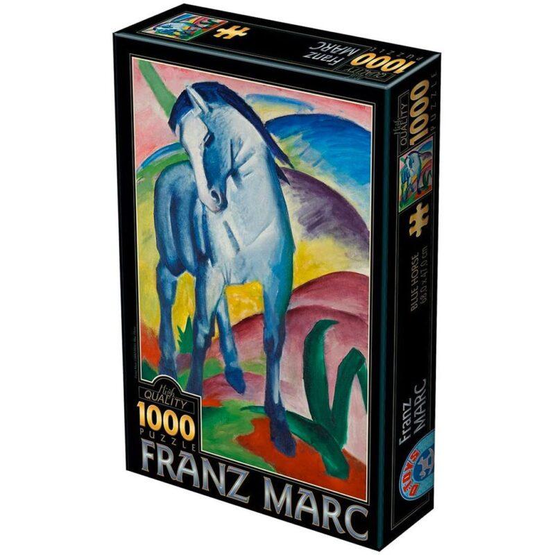 Puzzle Cavallo Blu Franz Mark 1000 Pezzi Puzzle Arte