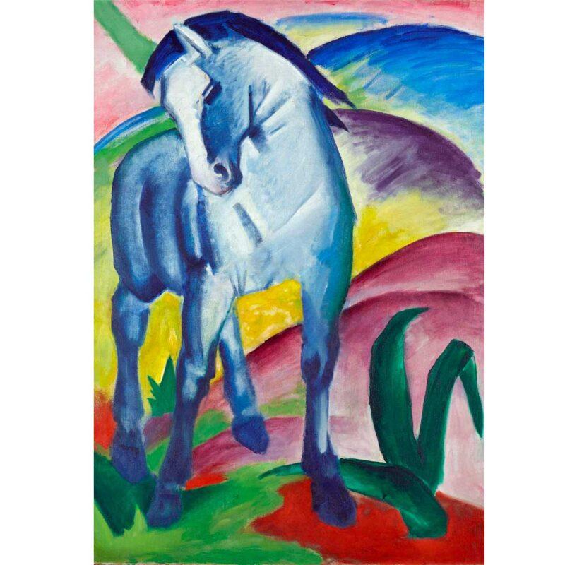 Puzzle Cavallo Blue Franz Mark Immagine Puzzle Arte