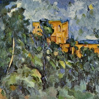 Puzzle Cezanne Le Chateau Noir