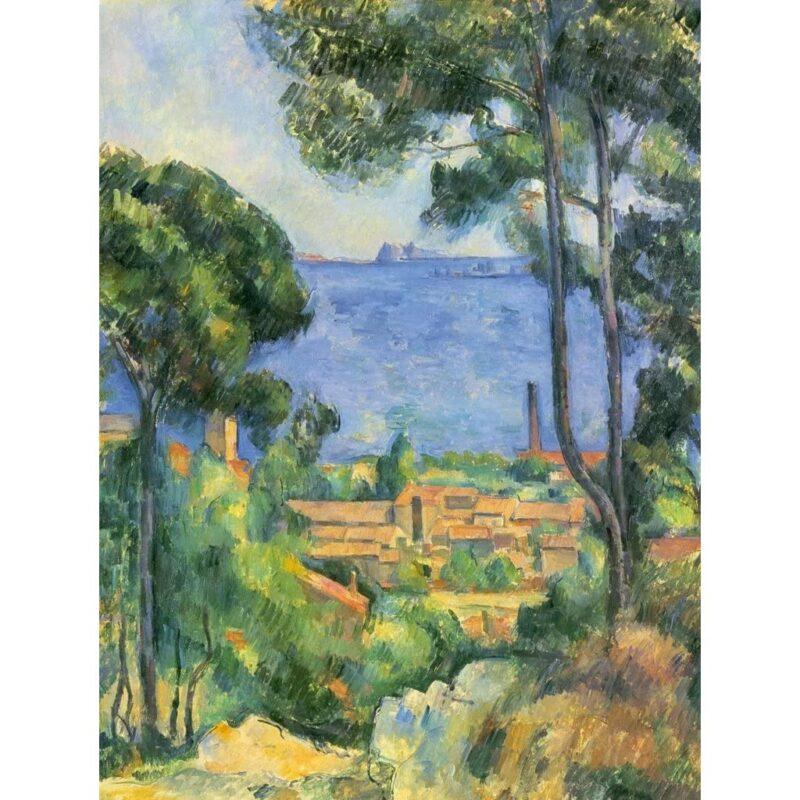 Puzzle Cezanne Veduta Di Estaque E Il Castello