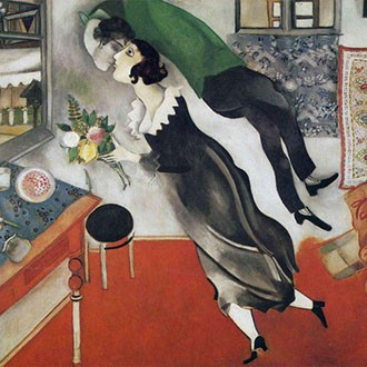 Puzzle Chagall Compleanno