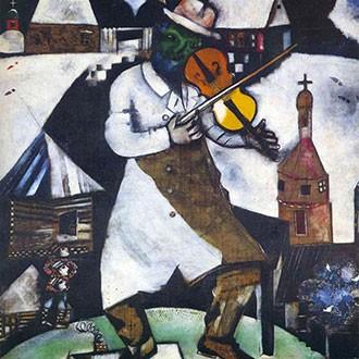 Puzzle Chagall Il Violinista