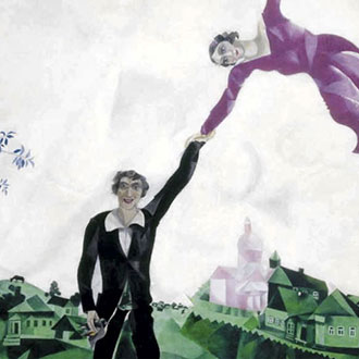 Puzzle Chagall La Passeggiata