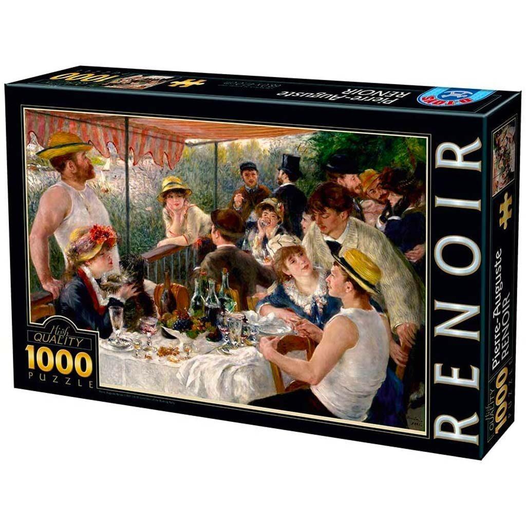 Puzzle Colazione Dei Canottieri Renoir 1000 Pezzi