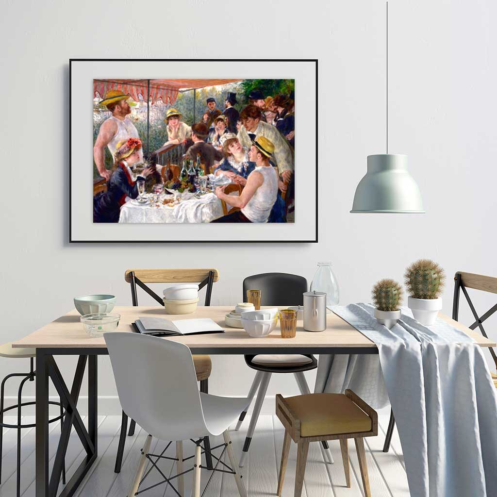 Puzzle Colazione Dei Canottieri Renoir Quadro Arte Dtoys