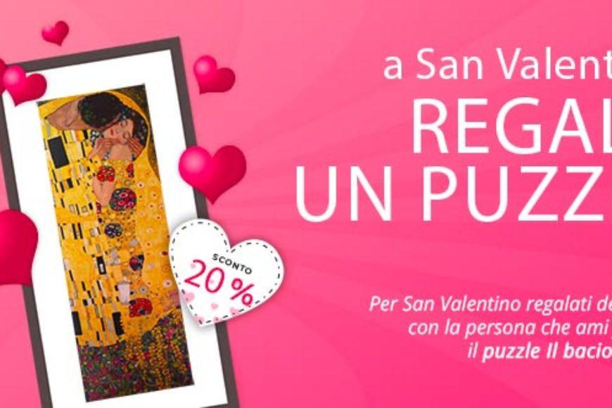 Un puzzle d'amore per la festa di San Valentino