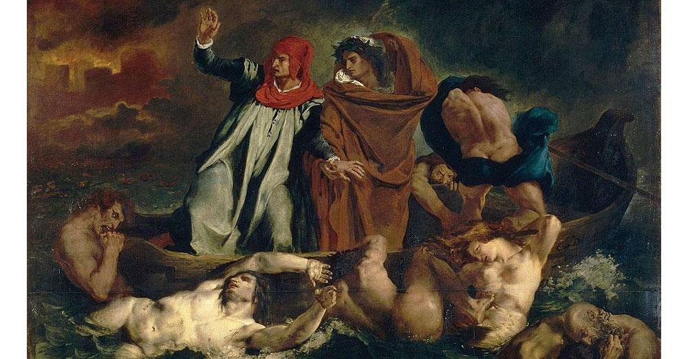 Puzzle Delacroix La Barca Di Dante