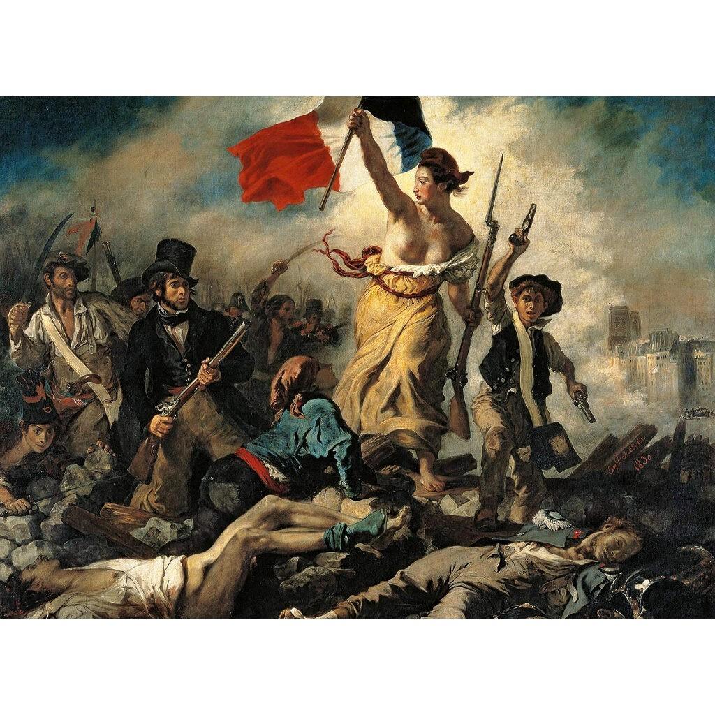 Puzzle Delacroix La Libertà Guida Il Popolo