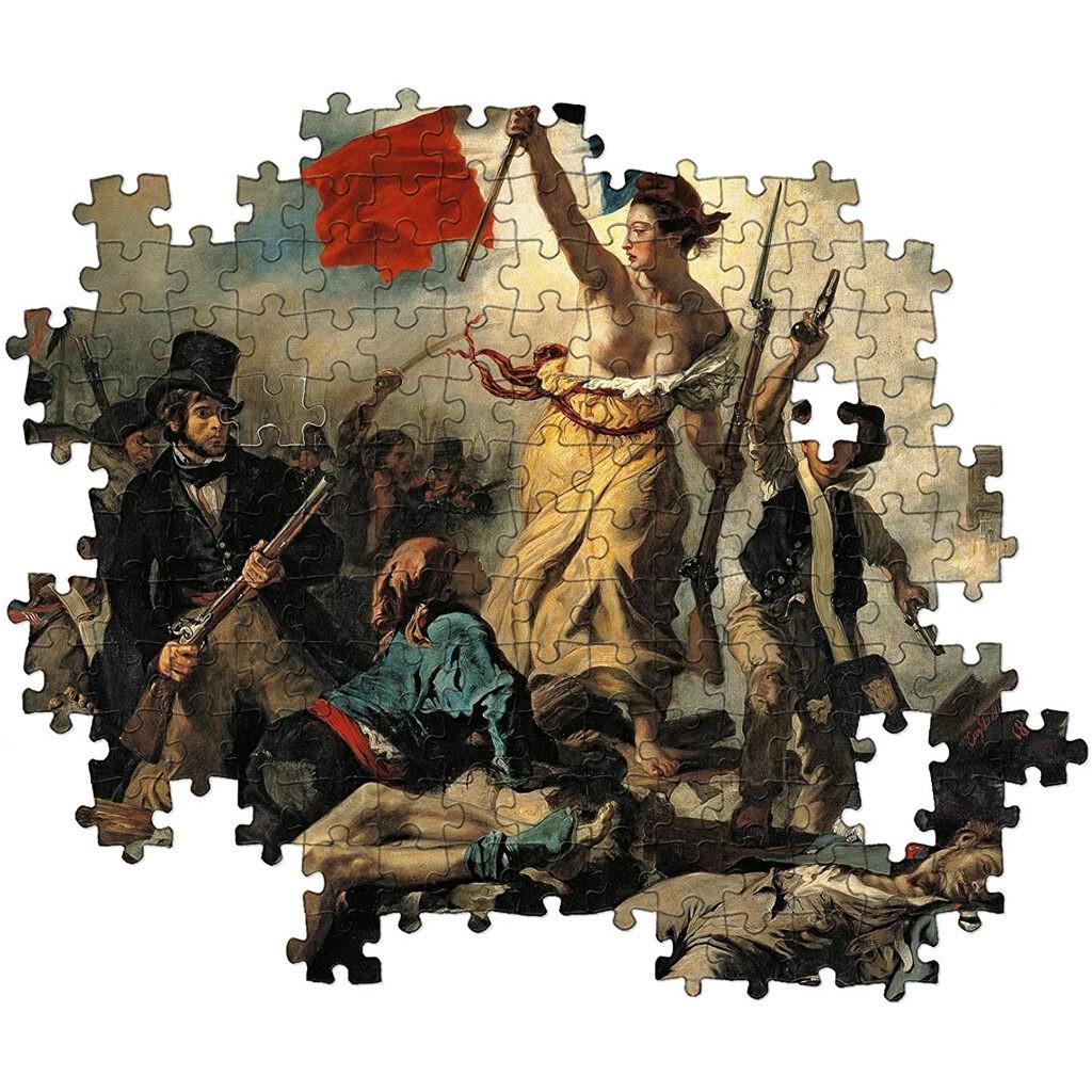 Puzzle Delacroix La Libertà Guida Il Popolo Clementoni