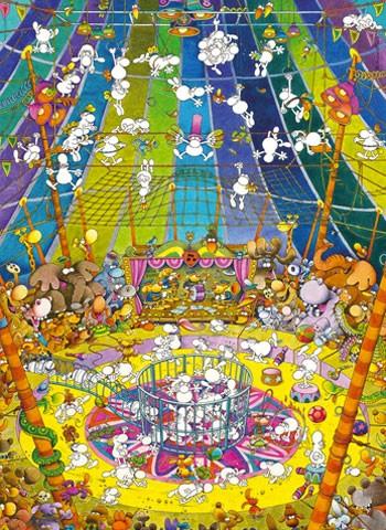 Puzzle Di Mordillo The Show