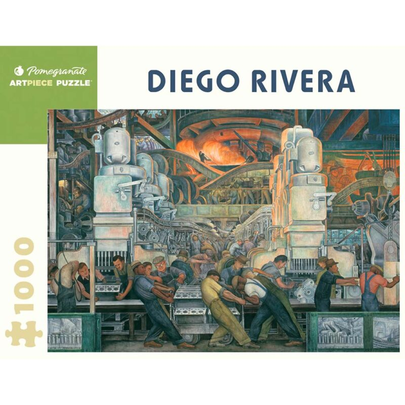 Puzzle Diego Rivera Detroit Industry Murals