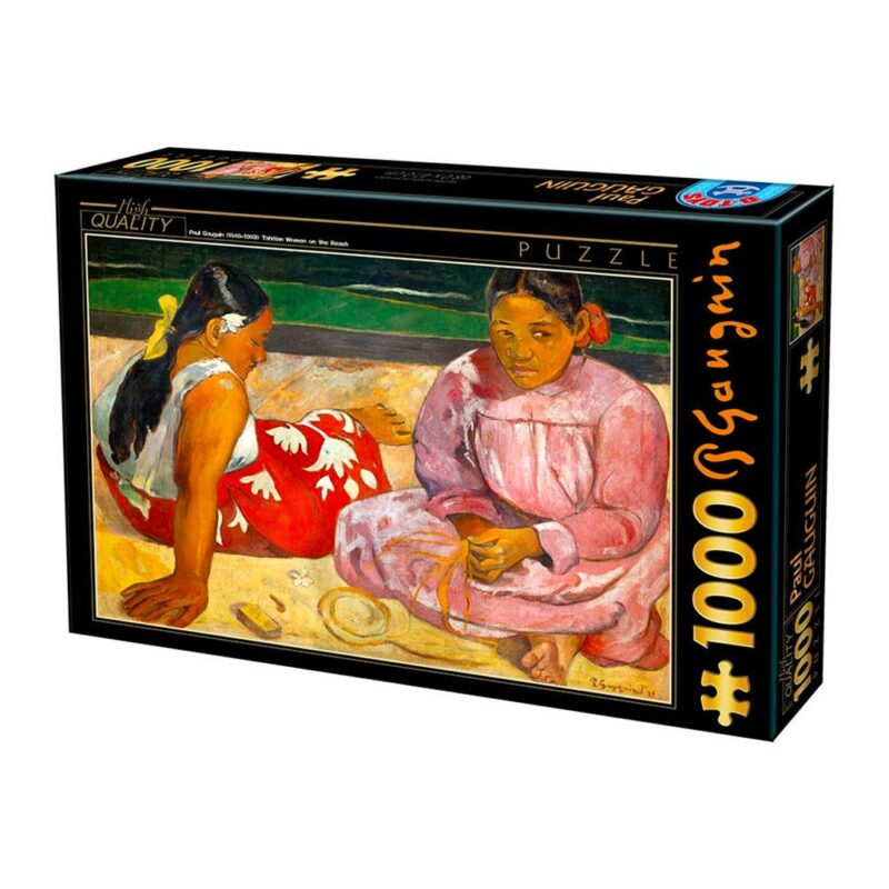Puzzle Donne Tahitiane 1000 Pezzi Dtoys Arte