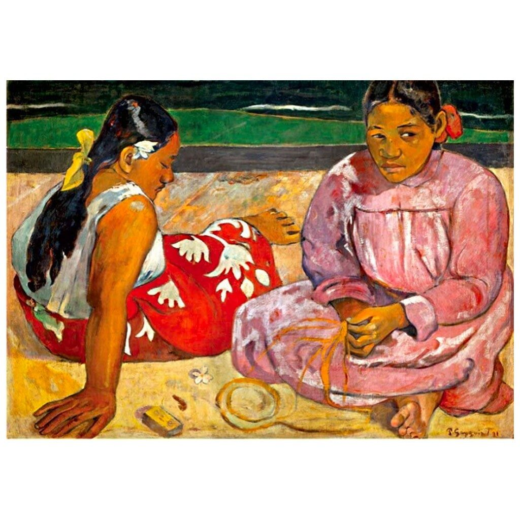 Puzzle Donne Tahitiane 1000 Pezzi Puzzle Arte