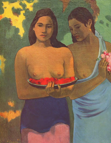 Puzzle Donne Tahitiane Gauguin Due Donne
